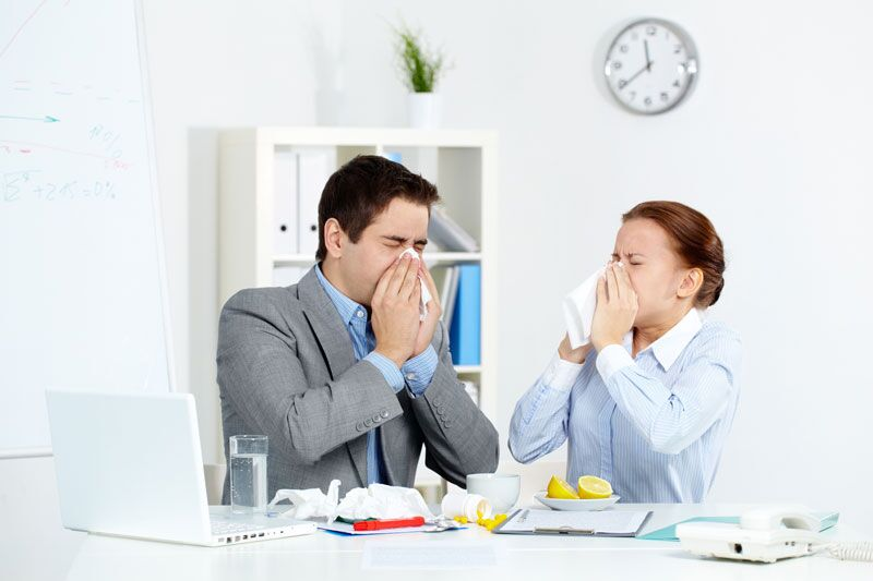 Fight off the Flu in Your Office, small business insurance