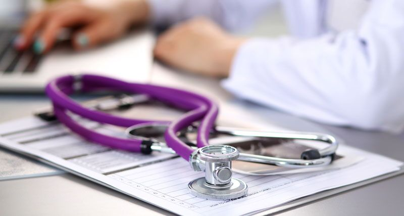 stethoscope and reports, manage complaints at your nursing home